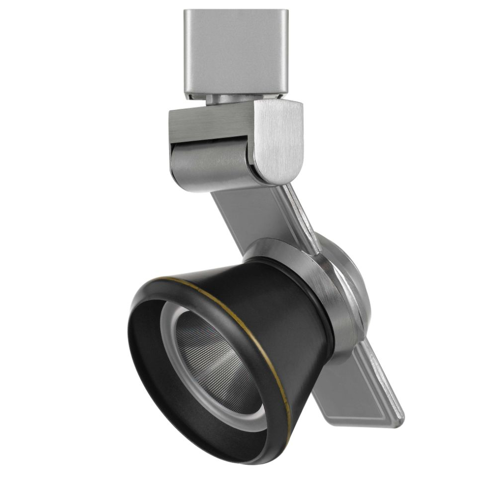 CAL Lighting HT-999BS-CONEDB 12w Dimmable Integrated Led Track Fixture, 750 Lumen, 90 Cri