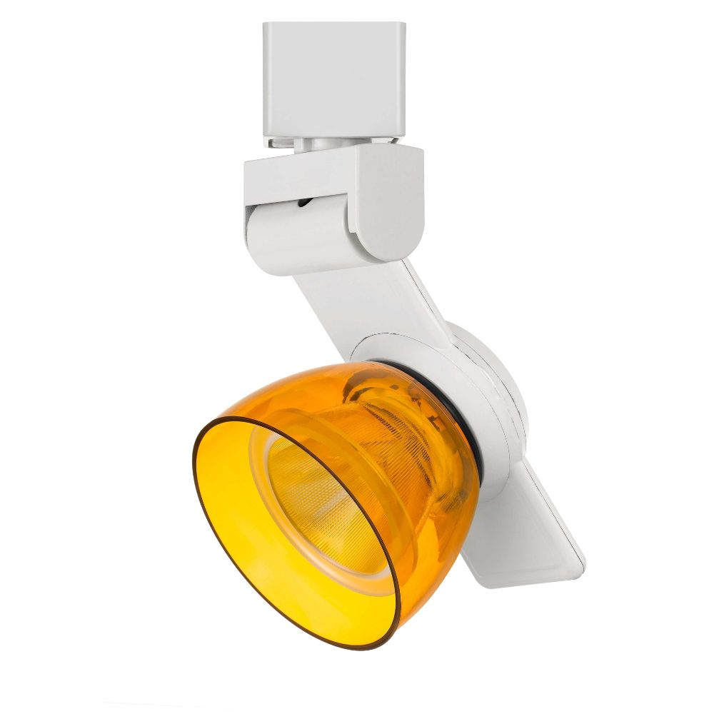 CAL Lighting HT-999WH-AMBCLR 12w Dimmable Integrated Led Track Fixture, 750 Lumen, 90 Cri