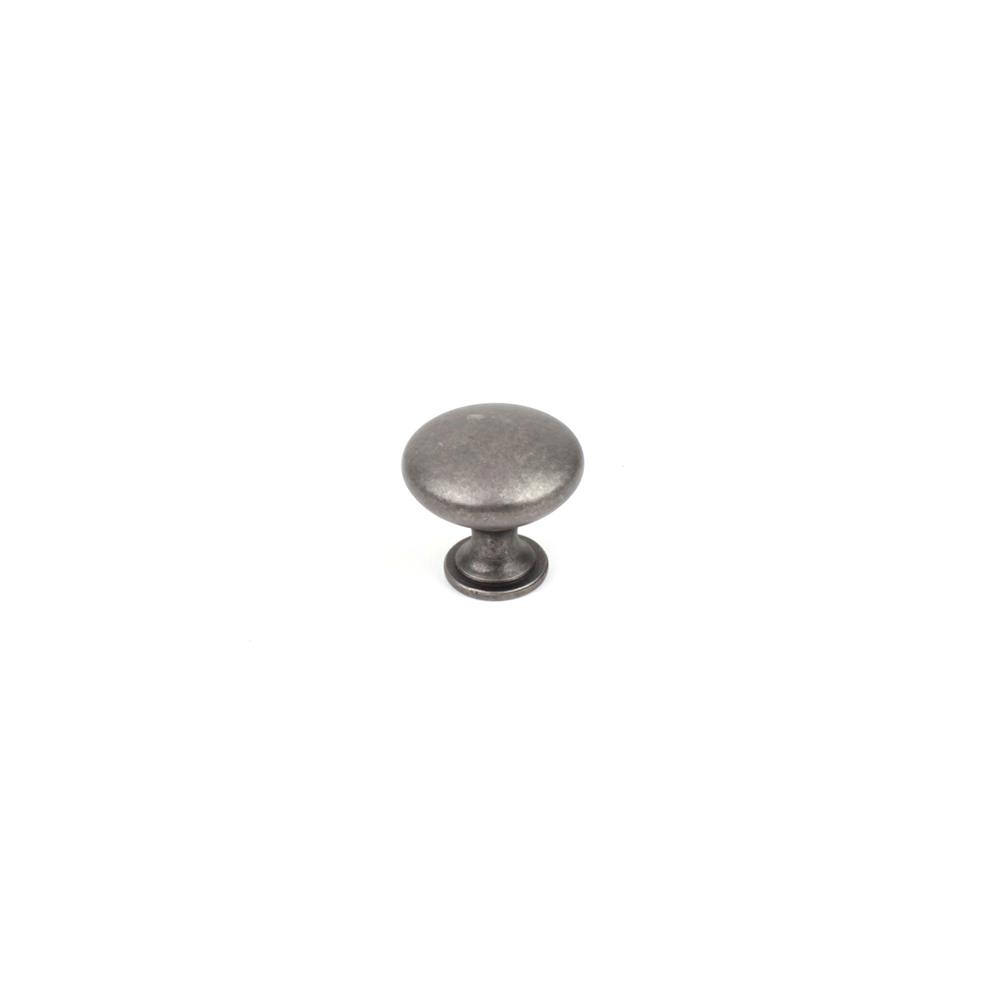 "Century Hardware 05122-AP 1-1//4"" Round Knob In Antique Pewter"