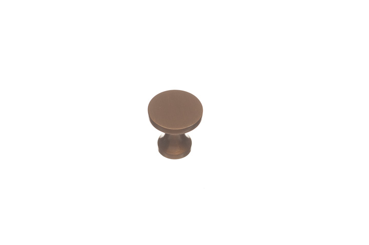 "Colonial Bronze 170-4 3/4"" diameter Knob - Satin Brass"