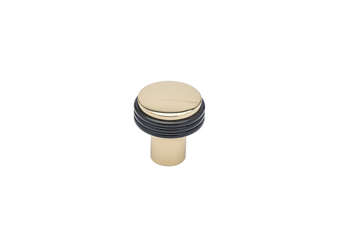 "Colonial Bronze 377-10BX10B 1 1/8"" Diameter Knob - Oil Rubbed Bronze and Oil Rubbed Bronze"