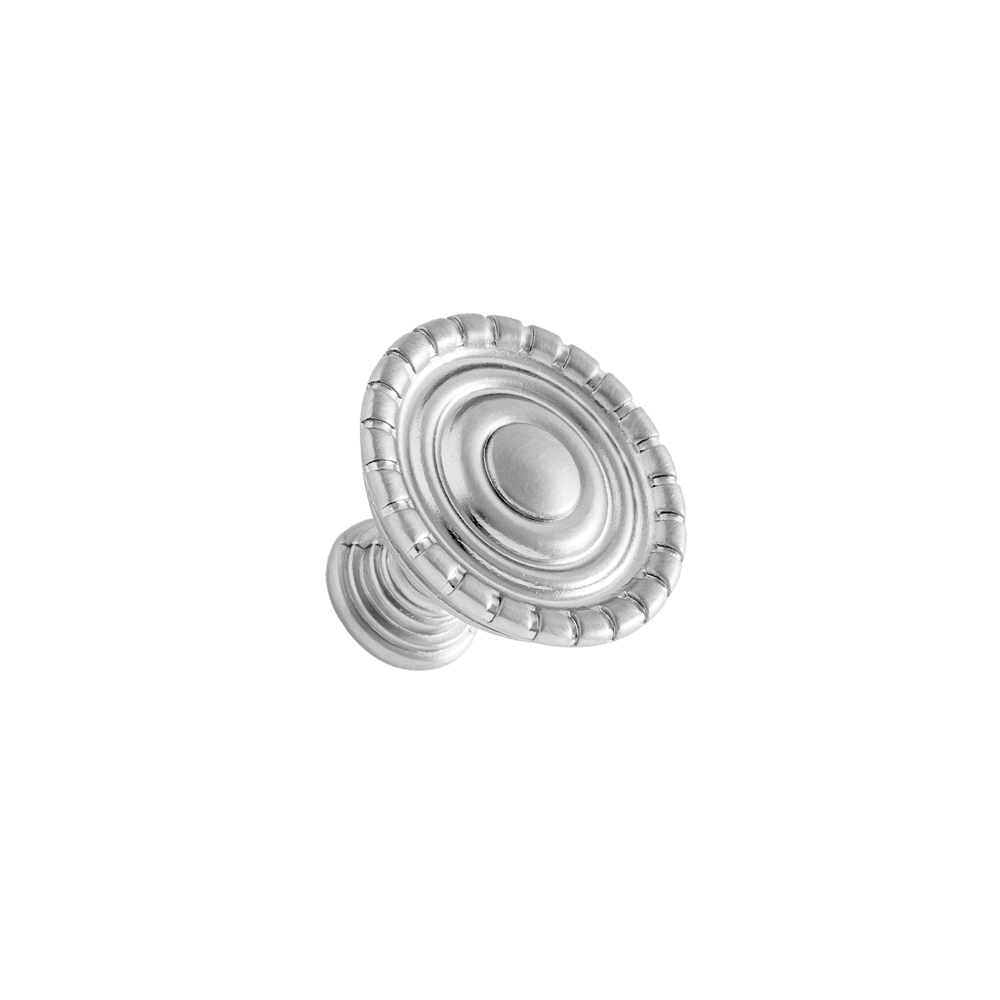 Continental Hardware RL020227 Sumner Street Home Hardware Laurel Knob - Satin Nickel