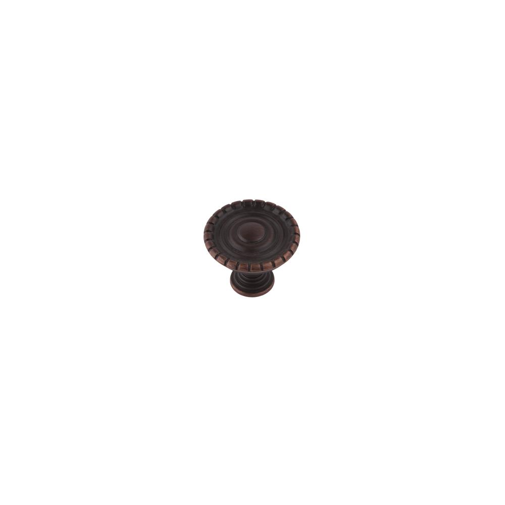 Continental Hardware RL020869 Sumner Street Home Hardware Laurel Knob - Satin Copper