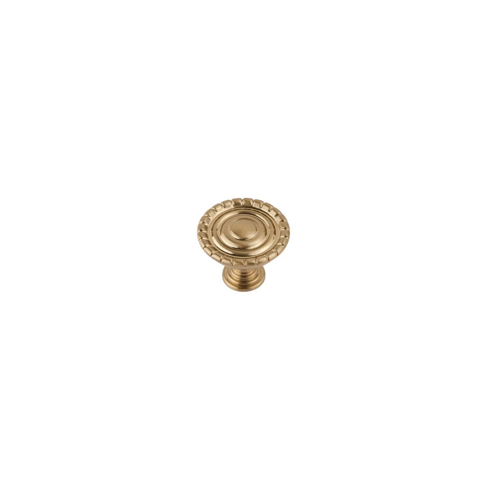 Continental Hardware RL020890 Sumner Street Home Hardware Laurel Knob - Satin Brass