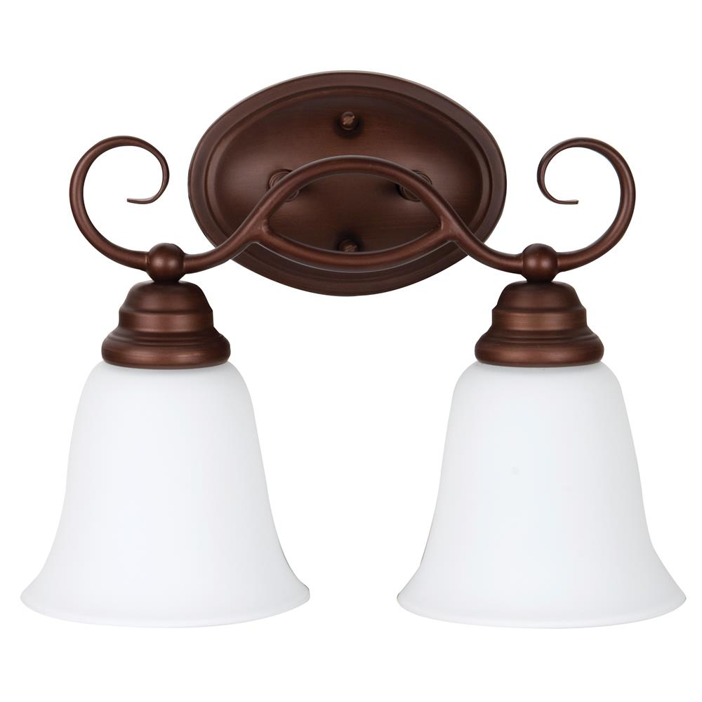 Craftmade 25002-OLB-WG Cordova 2 Light Vanity in Old Bronze