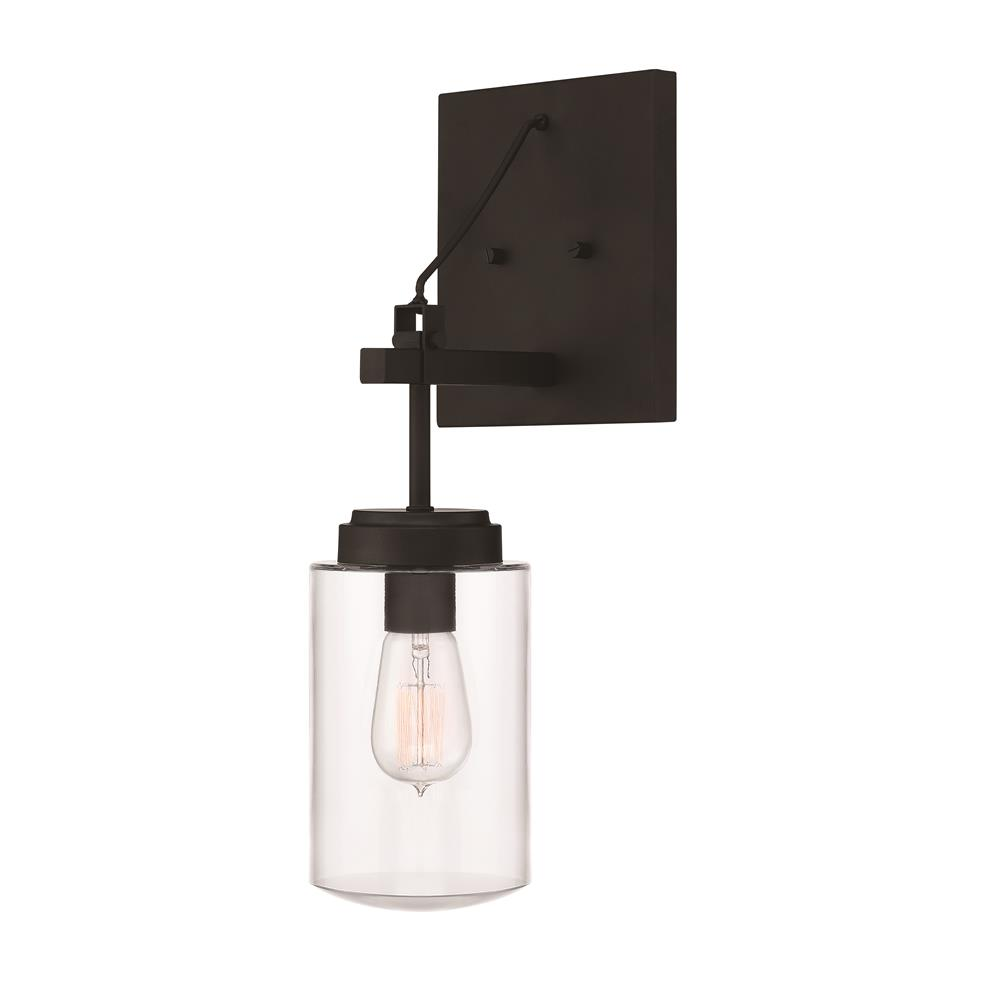 Craftmade 52161-ESP Crosspoint 1 Light Outdoor Wall Sconce in Espresso