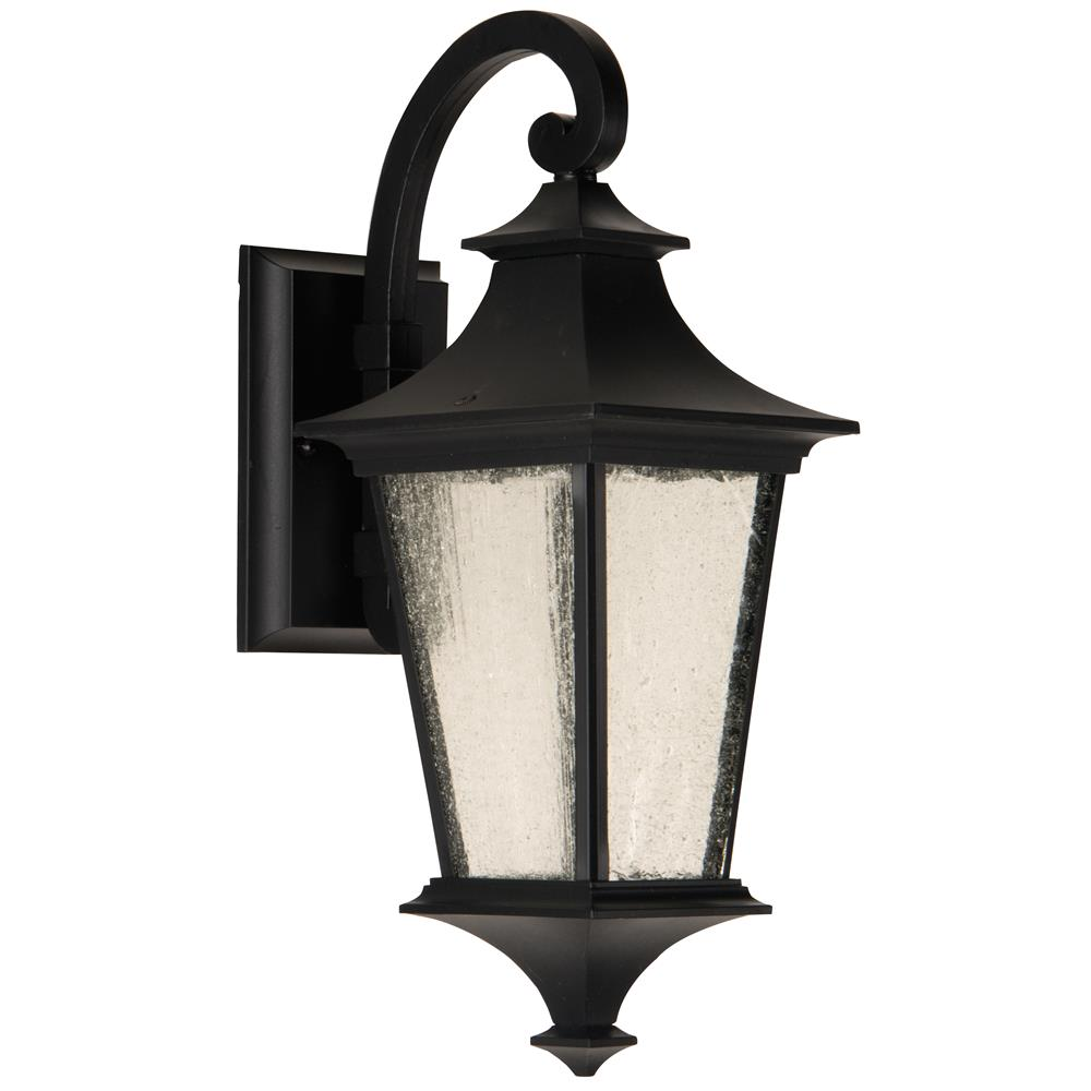 Craftmade Z1354-MN-LED Argent II Small Wall Mount in Midnight
