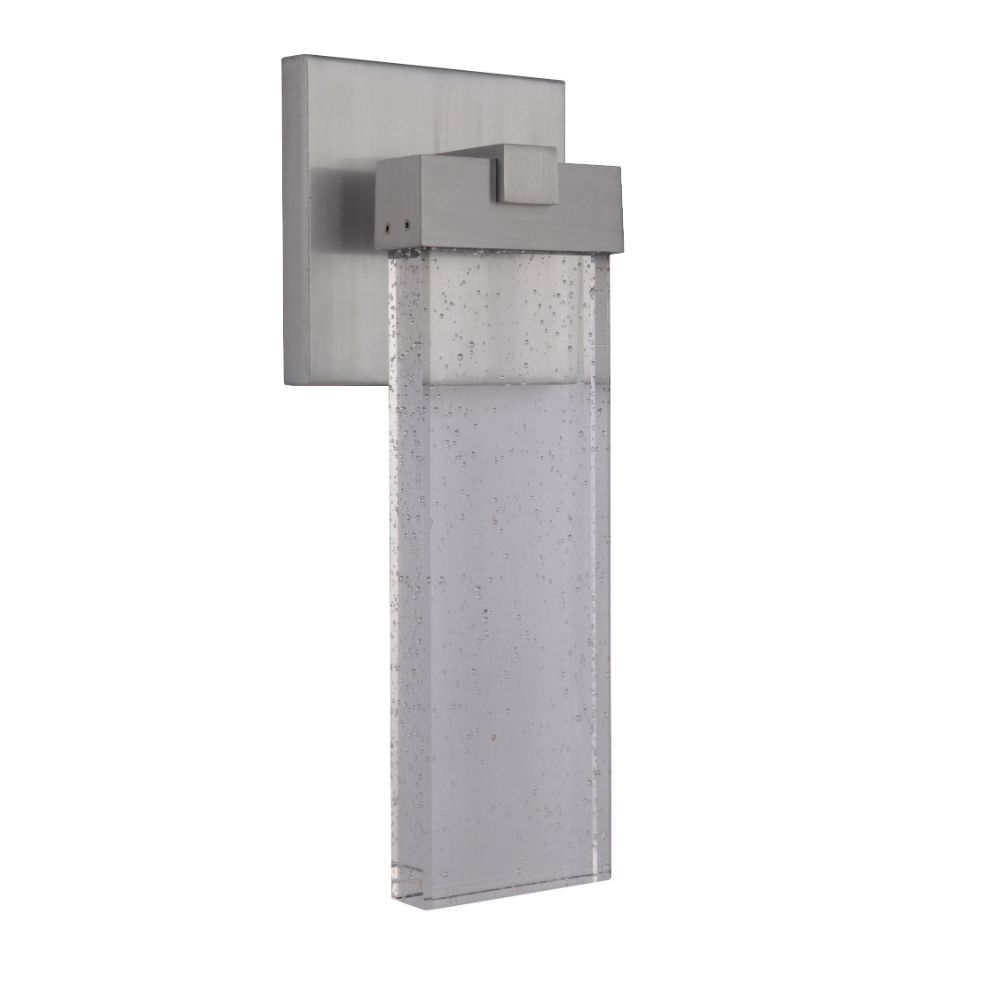 Craftmade Z1604-SA-LED Aria Small LED Wall Mount in Satin Aluminum