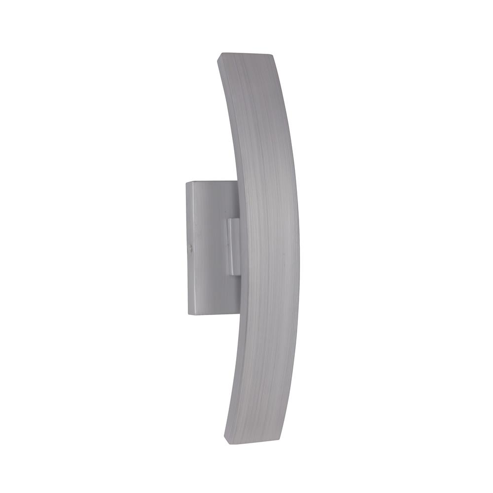 Craftmade Z1900-BAO-LED Arcus Small LED Wall Mount in Brushed Aluminum Outdoor