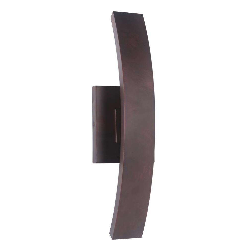 Craftmade Z1910-AC-LED Arcus Medium LED Wall Mount in Aged Copper