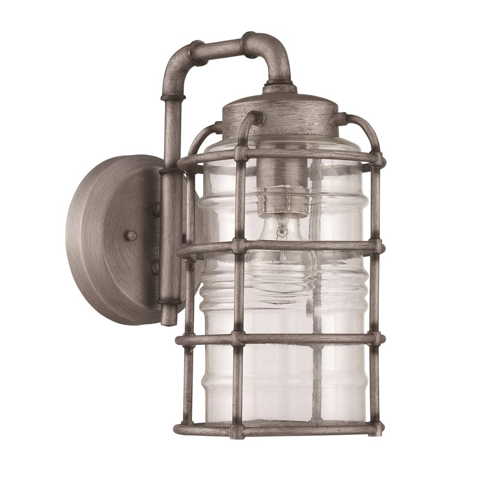 Craftmade Z2124-AGV Hadley 1 Light Medium Wall Mount in Aged Galvanized