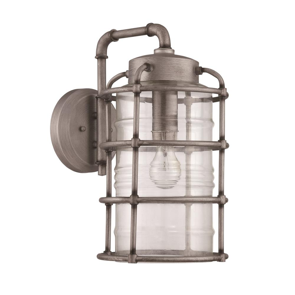 Craftmade Z2134-AGV Hadley 1 Light Large Wall Mount in Aged Galvanized