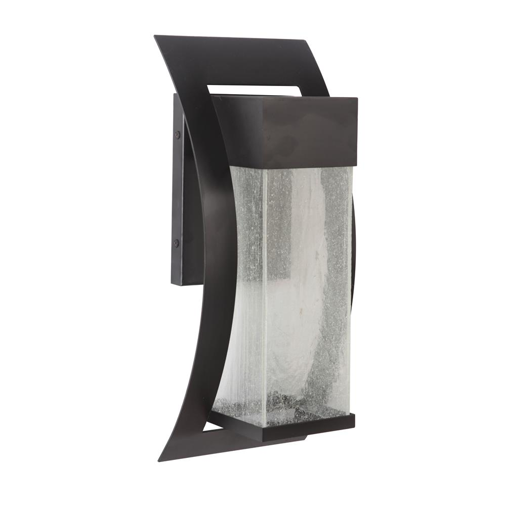 Craftmade Z2524-MN-LED Ontario Large Wall Mount in Midnight