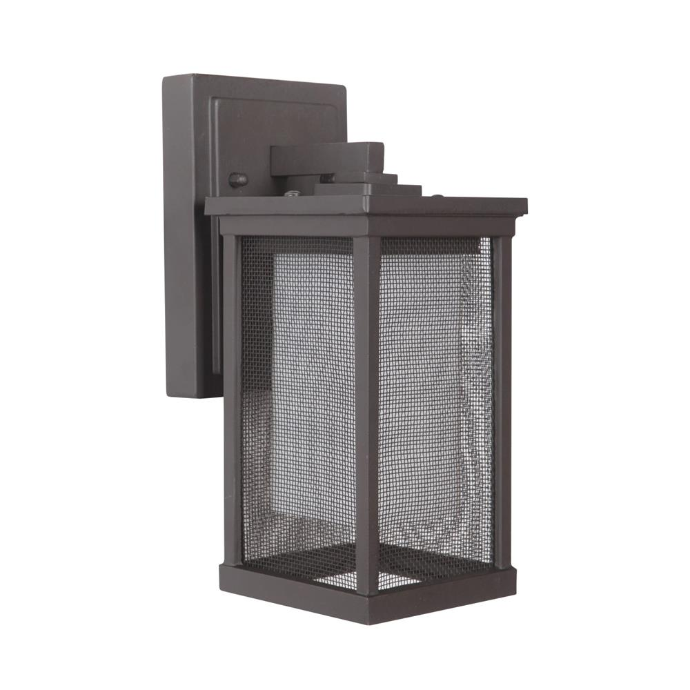 Craftmade Z3754-OBO Riviera II Small Wall Mount in Oiled Bronze Outdoor