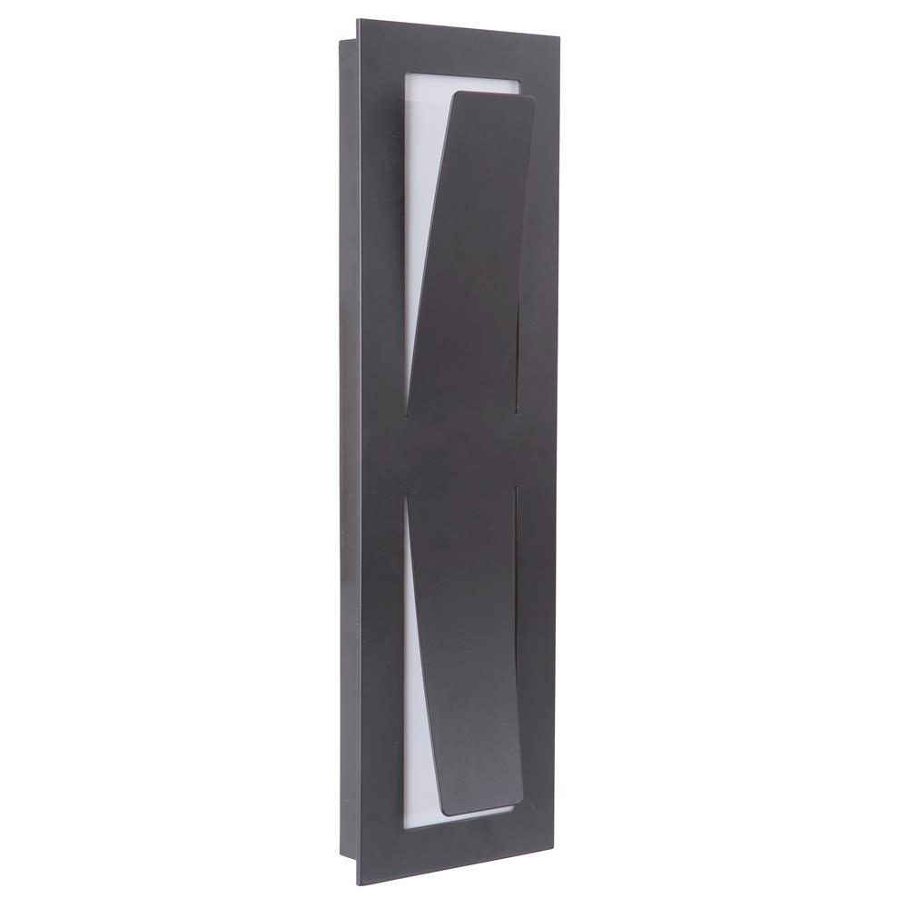 Craftmade Z4812-MN-LED Enzo Medium LED Pocket Sconce in Midnight