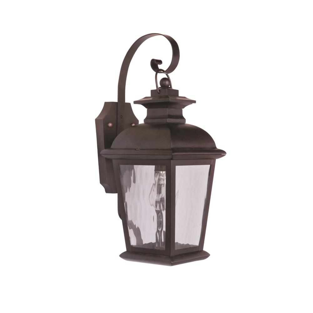 Craftmade Z5704-OBO Branbury Small Wall Mount in Oiled Bronze Outdoor