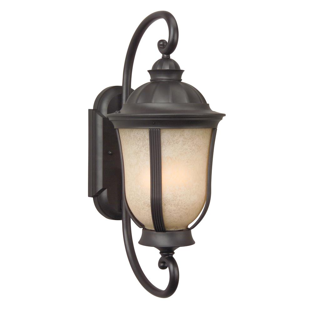 Craftmade Z6100-OBO Frances II Small Wall Mount in Oiled Bronze Outdoor