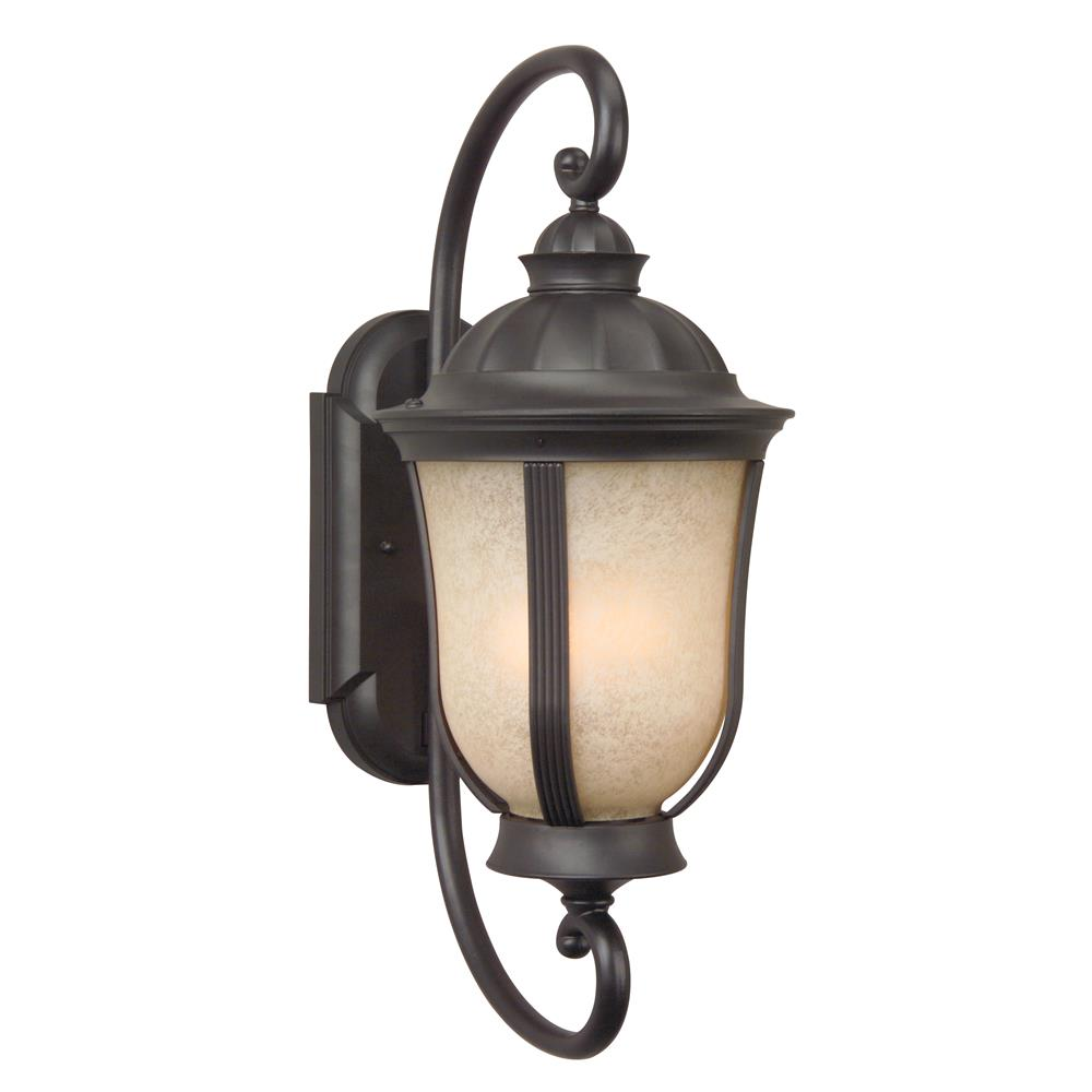 Craftmade Z6110-OBO Frances II Medium Wall Mount in Oiled Bronze Outdoor