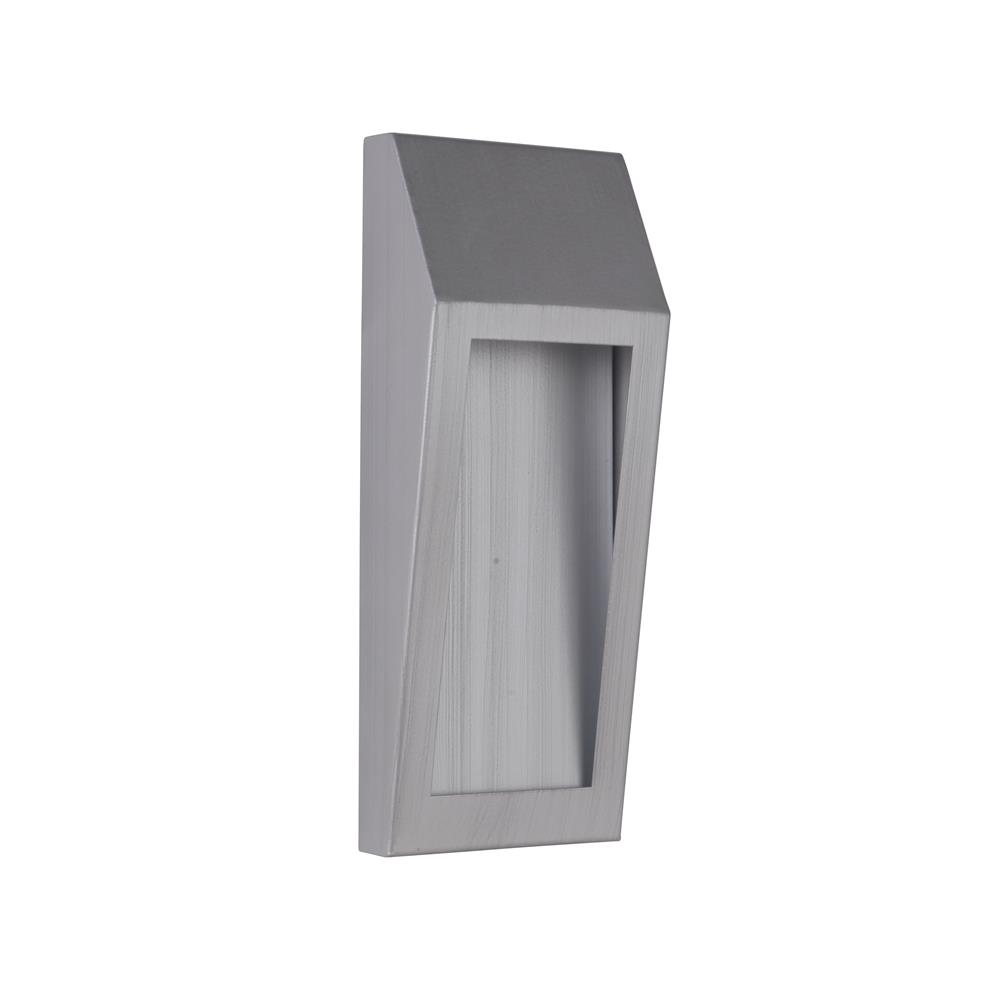Craftmade Z9302-BAO-LED Wedge Small LED Pocket Sconce in Brushed Aluminum Outdoor