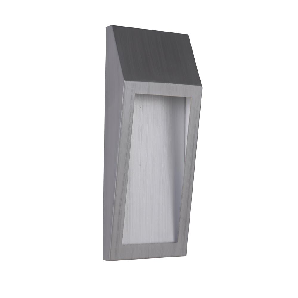 Craftmade Z9312-BAO-LED Wedge Medium LED Pocket Sconce in Brushed Aluminum Outdoor