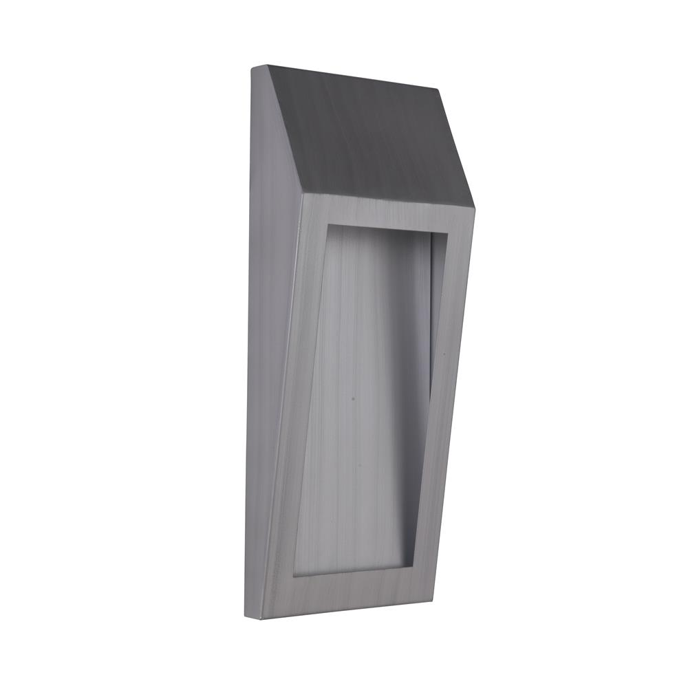 Craftmade Z9322-BAO-LED Wedge Large LED Pocket Sconce in Brushed Aluminum Outdoor