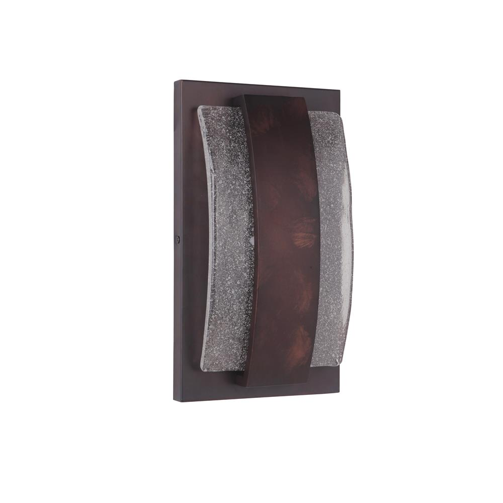 Craftmade Z9602-AC-LED Lynk Small LED Pocket Sconce in Aged Copper
