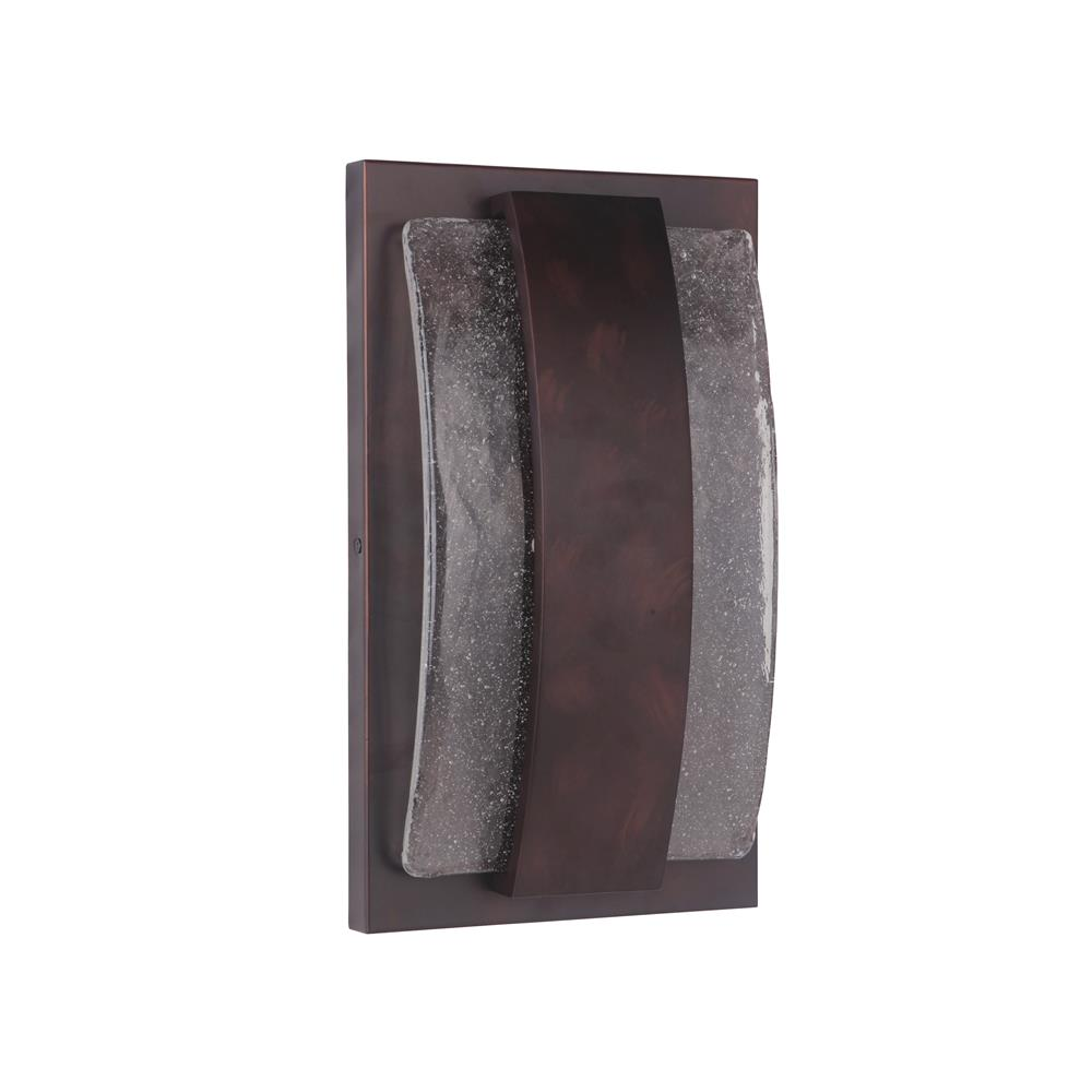 Craftmade Z9612-AC-LED Lynk Medium LED Pocket Sconce in Aged Copper