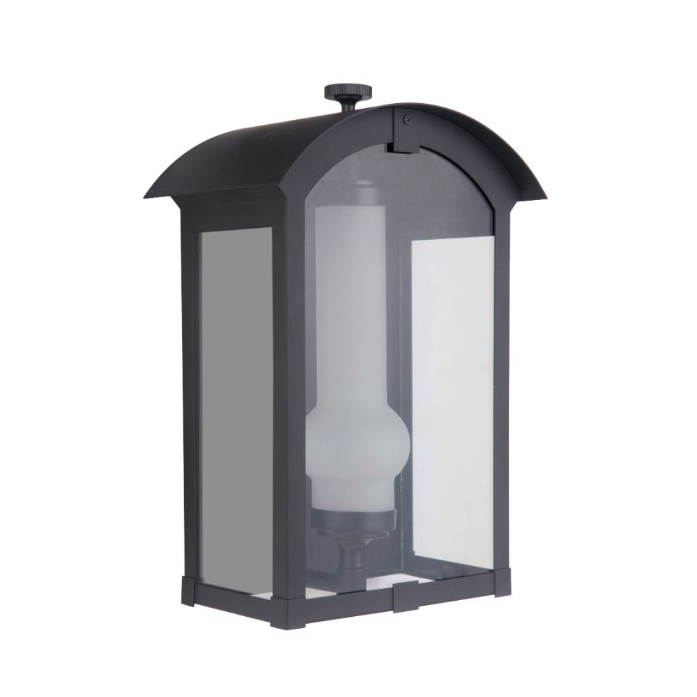 Craftmade ZA1712-MN-LED Montcrest Medium LED Pocket Sconce in Midnight