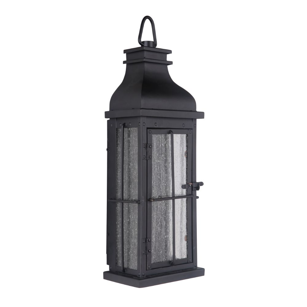 Craftmade ZA1802-MN-LED Vincent LED Pocket Sconce in Midnight