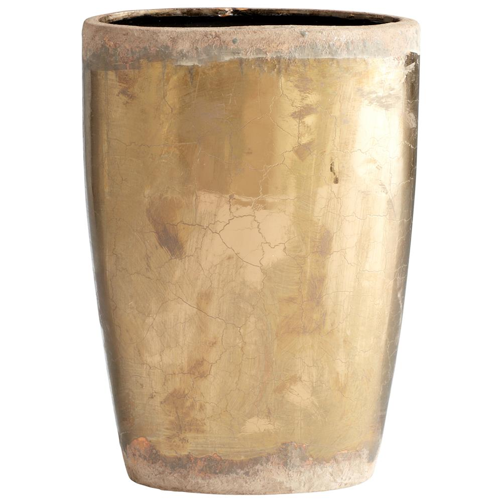 Cyan Design 05419 Large Rosen Planter in Bronze