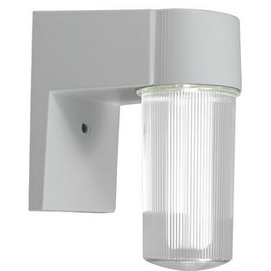 Dabmar Lighting W2850-W Polycarbonate Surface Mounted Wall Fixture in White