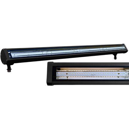 "Dabmar Lighting DF-LED9402-B LED Linear Flood and Sign Light Fixture 47.65"" 36 Watt LED 120 Volts in Black"