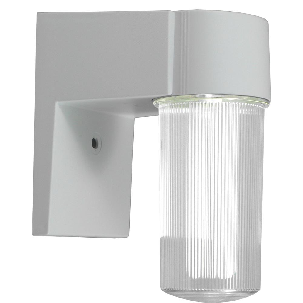 Dabmar Lighting W2800-W Polycarbonate Surface Mounted Wall Fixture in White