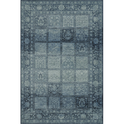 Dalyn Rugs BC1544 Beckham 3 Ft. 3 In. X 5 Ft. 1 In. Rectangle Rug in Sky Blue