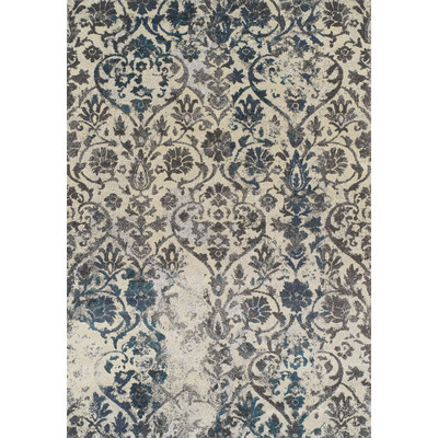 Dalyn Rugs MG22 Modern Greys 3 Ft. 3 In. X 5 Ft. 3 In. Rectangle Rug in Teal