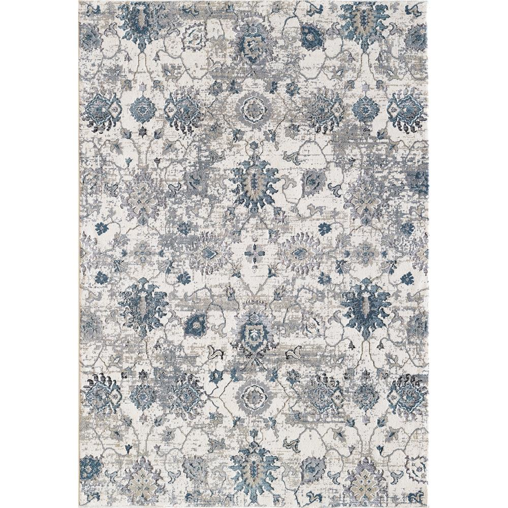 Dynamic Rugs 3375 150 Astoria 9 Ft. 6 In. X 13 Ft. 1 In. Rectangle Rug in Cream/Blue