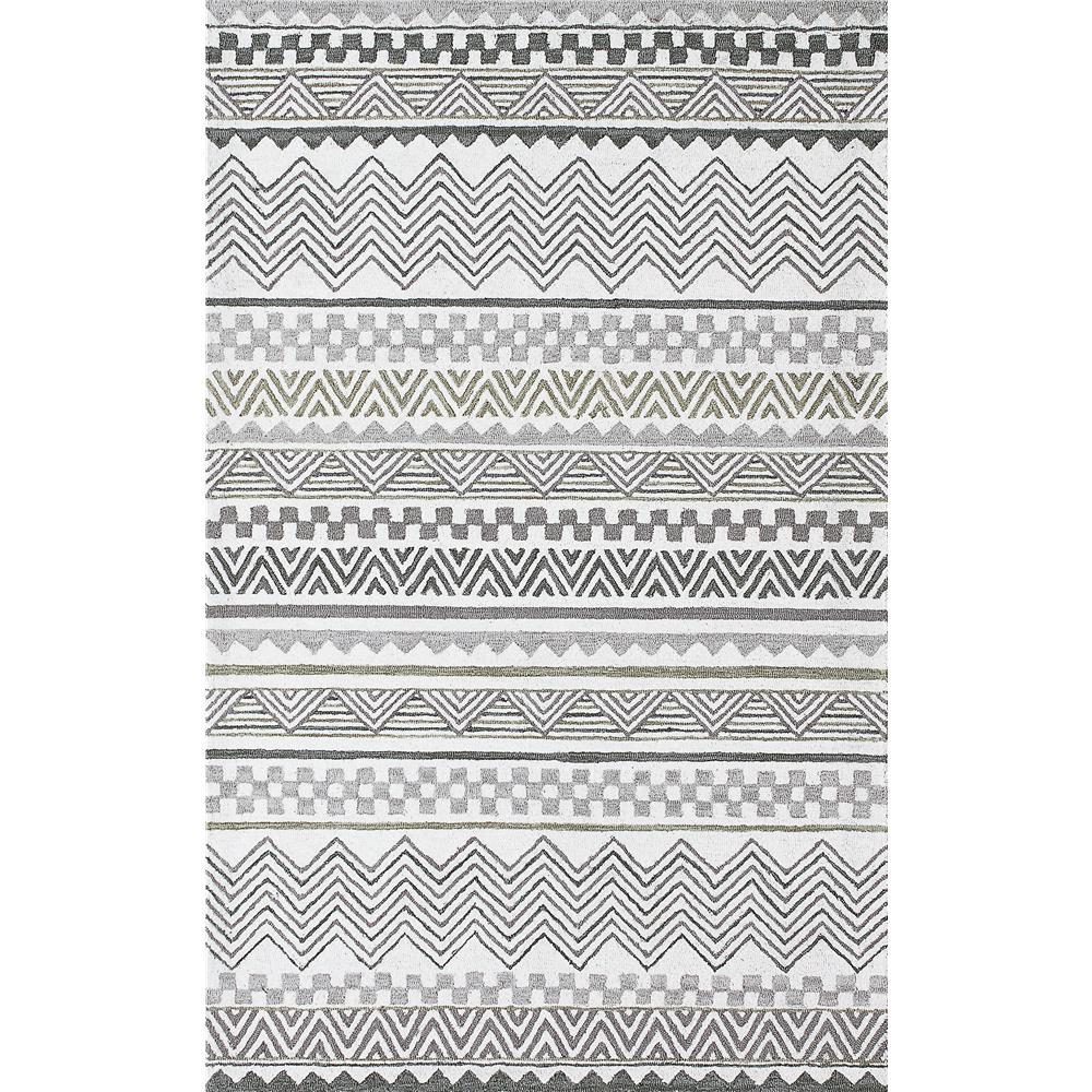 Dynamic Rugs 7870 Aztec 9 Ft. 2 In. X 12 Ft. 6 In. Rectangle Rug in Grey
