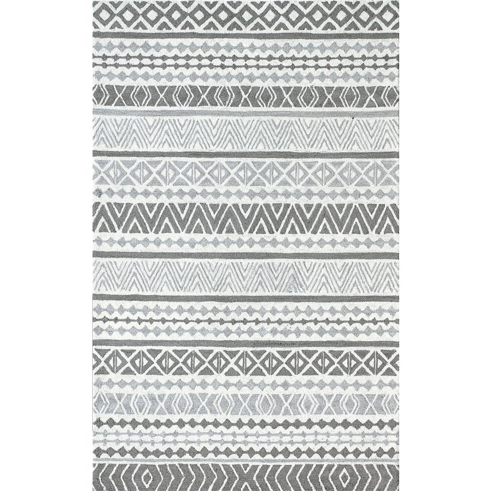 Dynamic Rugs 7871 Aztec 9 Ft. 2 In. X 12 Ft. 6 In. Rectangle Rug in Grey