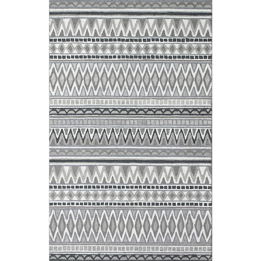 Dynamic Rugs 7872 Aztec 9 Ft. 2 In. X 12 Ft. 6 In. Rectangle Rug in Grey