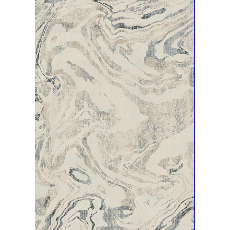 Dynamic Rugs 3434 100 Bali 2 Ft. X 3 Ft. 11 In. Rectangle Rug in White/Marble