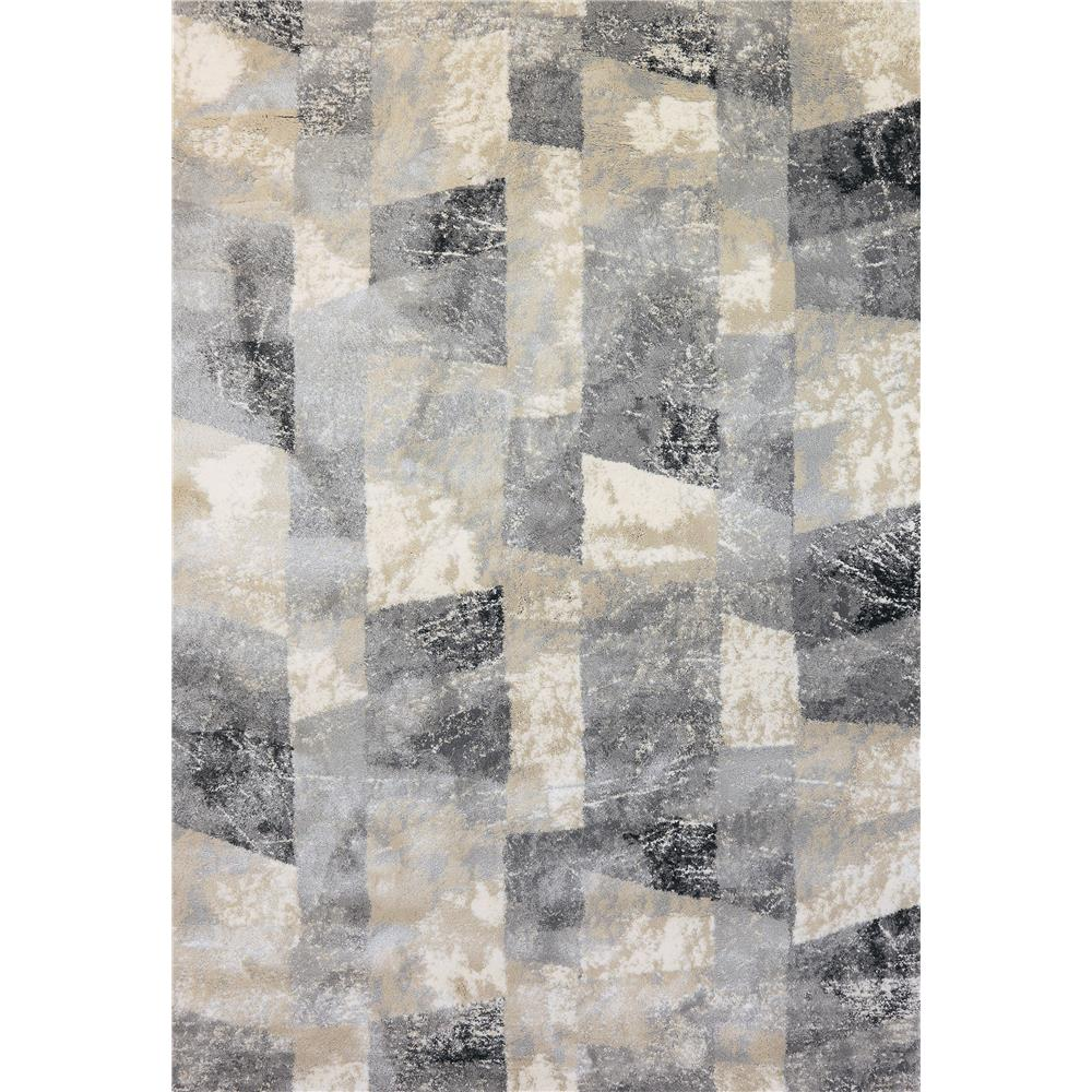 Dynamic Rugs 3438 919 Bali 2 Ft. X 3 Ft. 11 In. Rectangle Rug in Cream/Grey