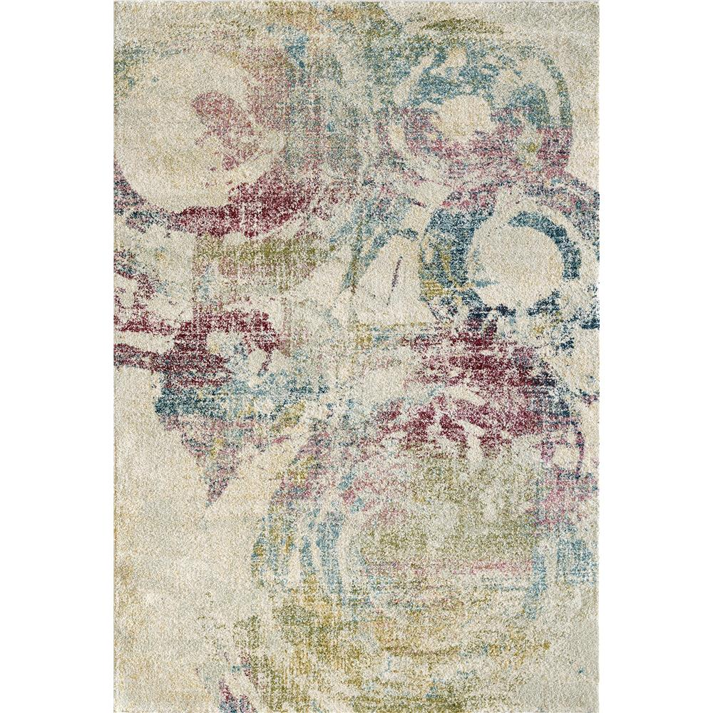 Dynamic Rugs 3439 Bali 7 Ft. 10 In. X 10 Ft. 10 In. Rectangle Rug in Cream/Grey