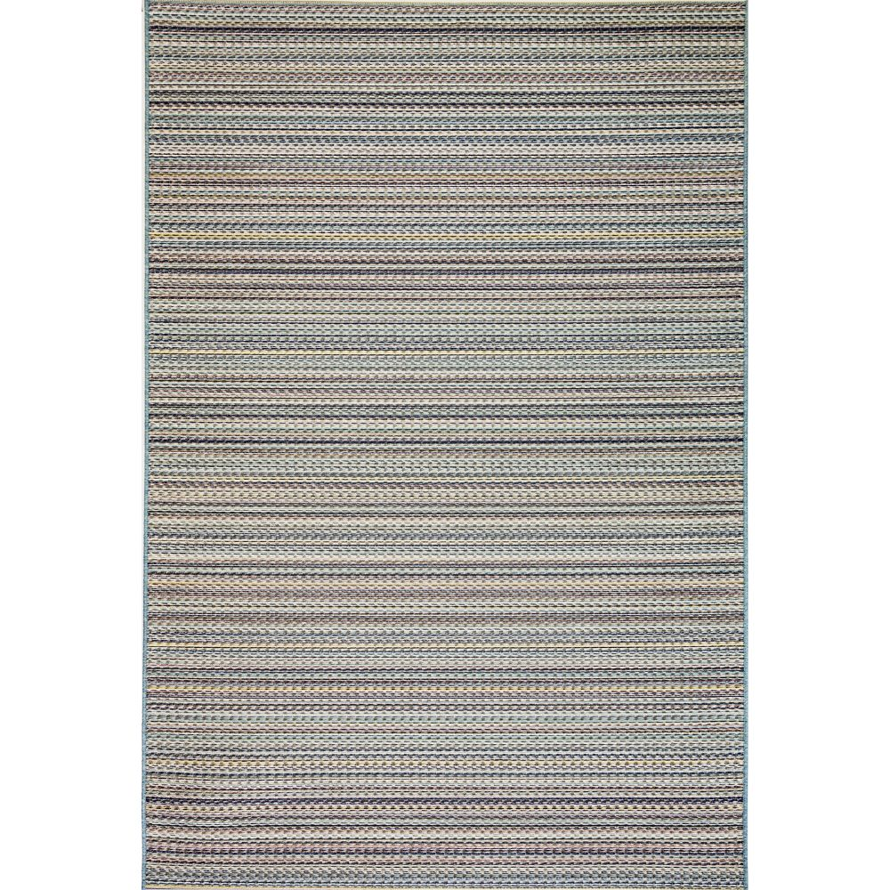 Dynamic Rugs 8160 5025 Brighton 2 Ft. X 3 Ft. 7 In. Rectangle Rug in Blue