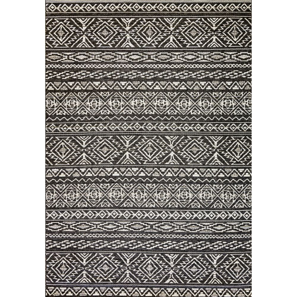 Dynamic Rugs 8359 3034 Brighton 2 Ft. X 3 Ft. 7 In. Rectangle Rug in Grey