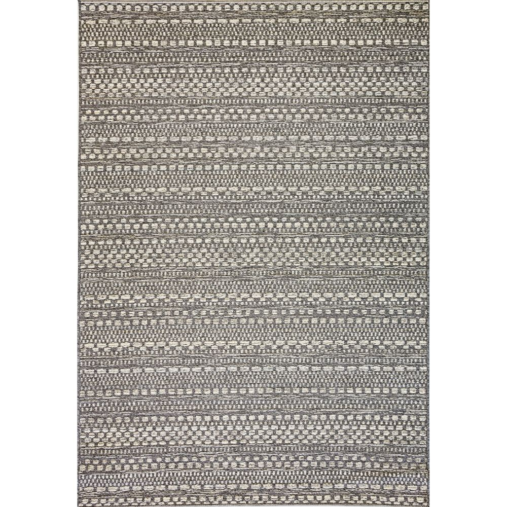 Dynamic Rugs 8570 3036 Brighton 2 Ft. X 3 Ft. 7 In. Rectangle Rug in Light Grey