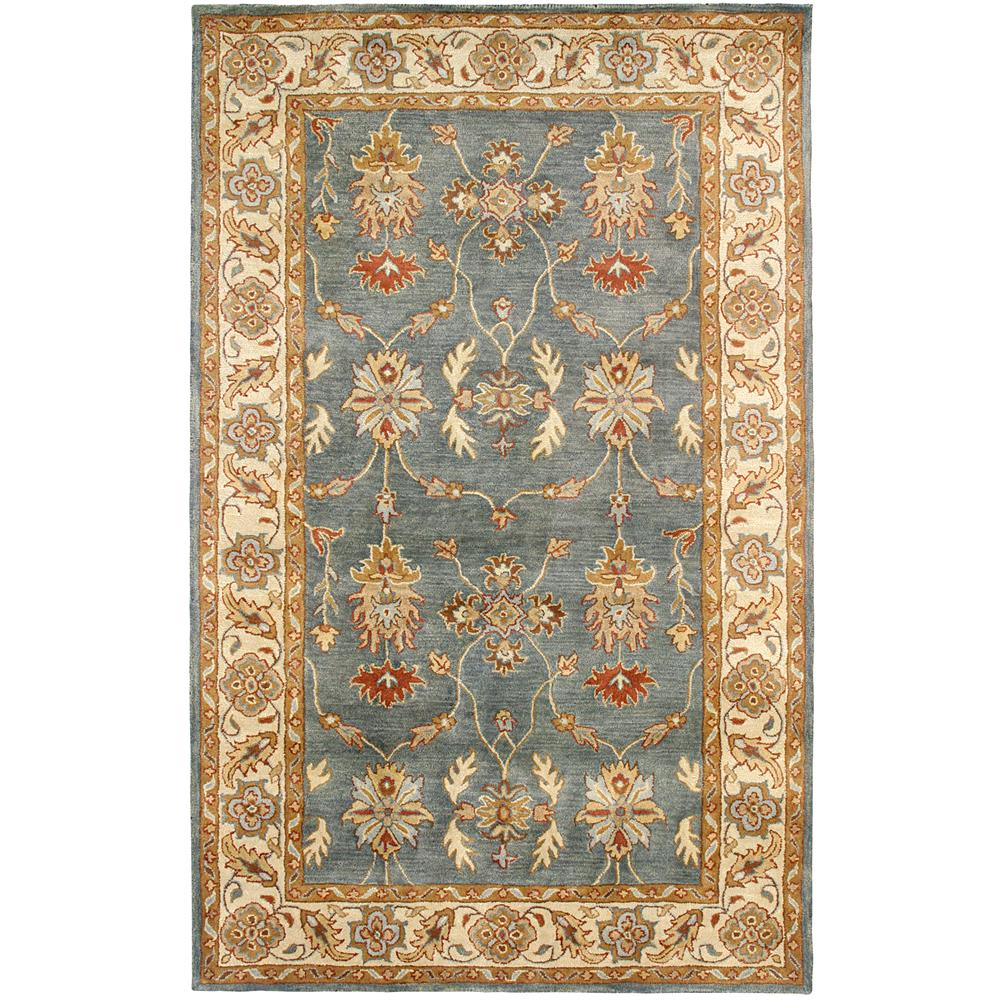 Dynamic Rugs 1403-500 Charisma 9 Ft. 6 In. X 13 Ft. 6 In. Rectangle Rug in Blue/Ivory