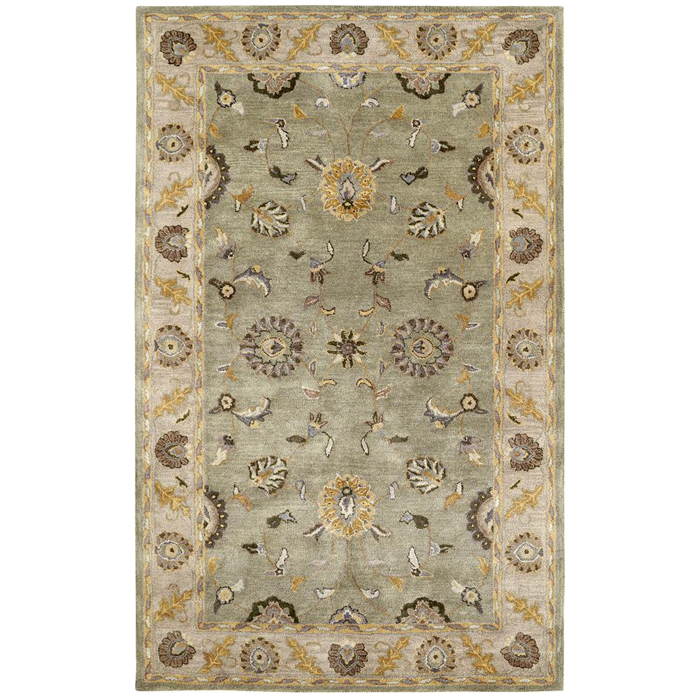 Dynamic Rugs 1405-405 Charisma 2 Ft. X 4 Ft. Rectangle Rug in Beige/Green