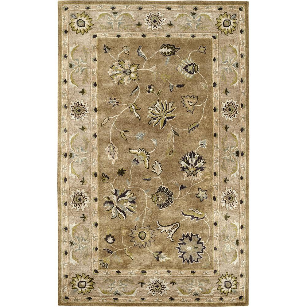 Dynamic Rugs 1406-419 Charisma 9 Ft. 6 In. X 13 Ft. 6 In. Rectangle Rug in Light Green
