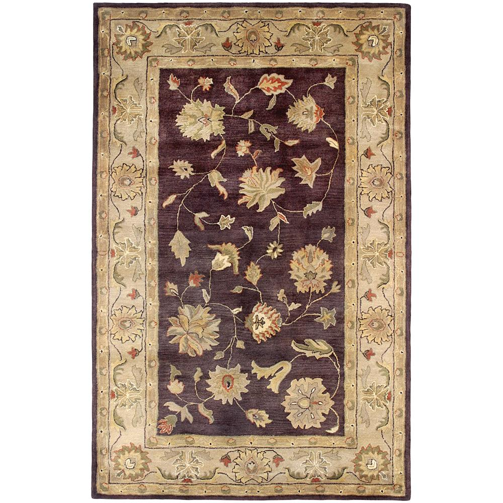 Dynamic Rugs 1406-800 Charisma 9 Ft. 6 In. X 13 Ft. 6 In. Rectangle Rug in Eggplant