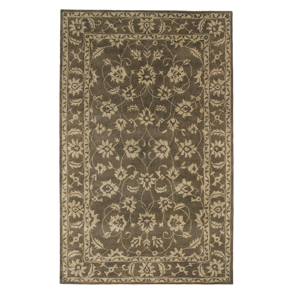 Dynamic Rugs 1407-400 Charisma 2 Ft. X 4 Ft. Rectangle Rug in Dark Olive
